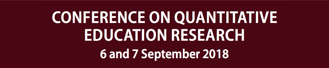 Quantitative Education Research Conference 2018