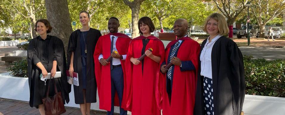 Recent RESEP PhD graduates